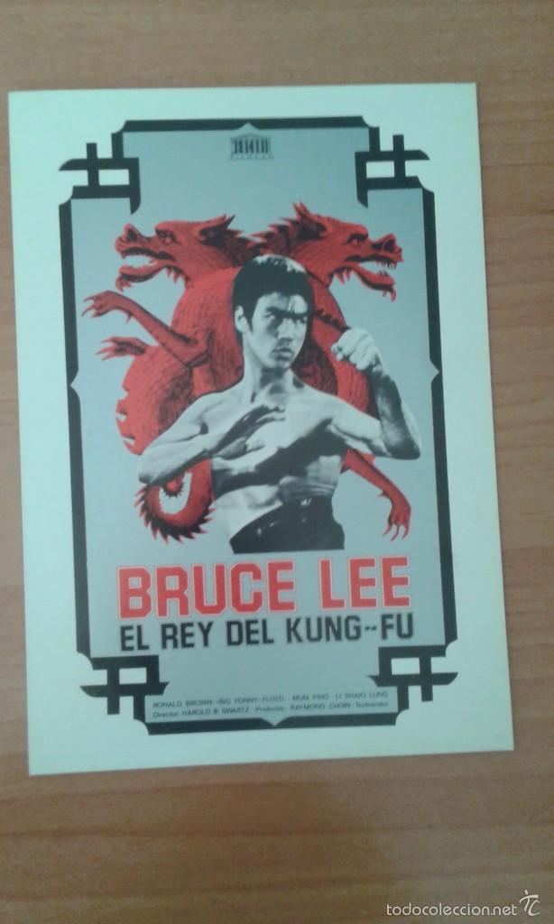 L1-GUIA SIMPLE DE LA PELICULA--BRUCE LEE EL REY DEL KUNG--FU (Cine - Guías Publicitarias de Películas )