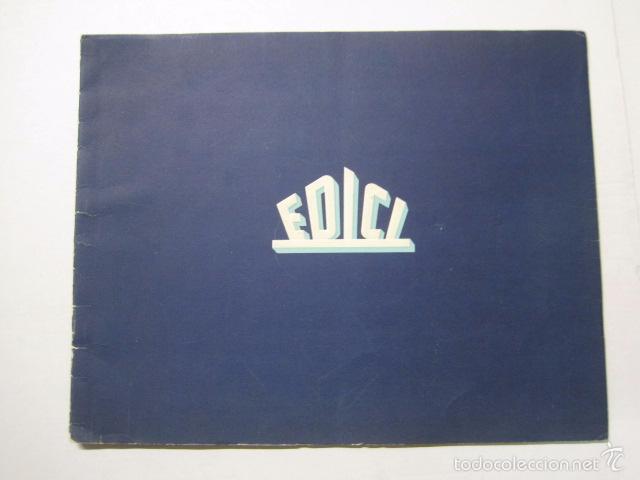 PROGRAMA PELICULAS EDICI - AÑOS 1948 -1949 - VER FOTOS -(V-5848) (Cine - Guías Publicitarias de Películas )