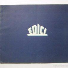 Cine: PROGRAMA PELICULAS EDICI - AÑOS 1948 -1949 - VER FOTOS -(V-5848). Lote 57160102
