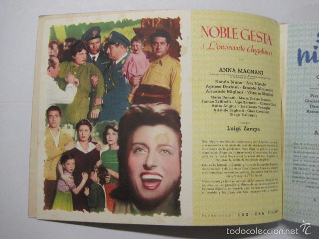 Cine: PROGRAMA PELICULAS EDICI - AÑOS 1948 -1949 - VER FOTOS -(V-5848) - Foto 4 - 57160102