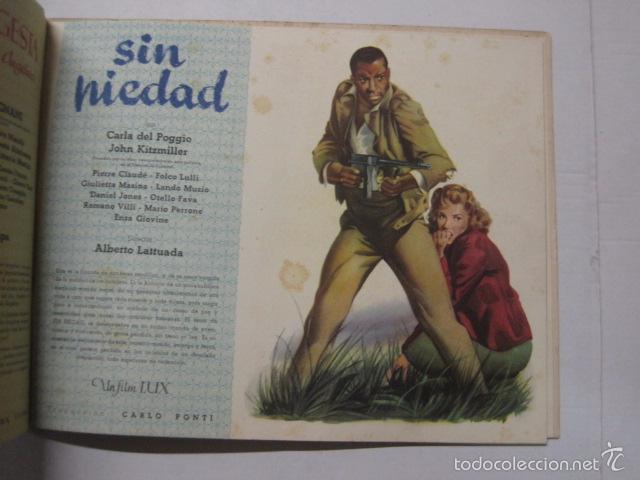 Cine: PROGRAMA PELICULAS EDICI - AÑOS 1948 -1949 - VER FOTOS -(V-5848) - Foto 5 - 57160102