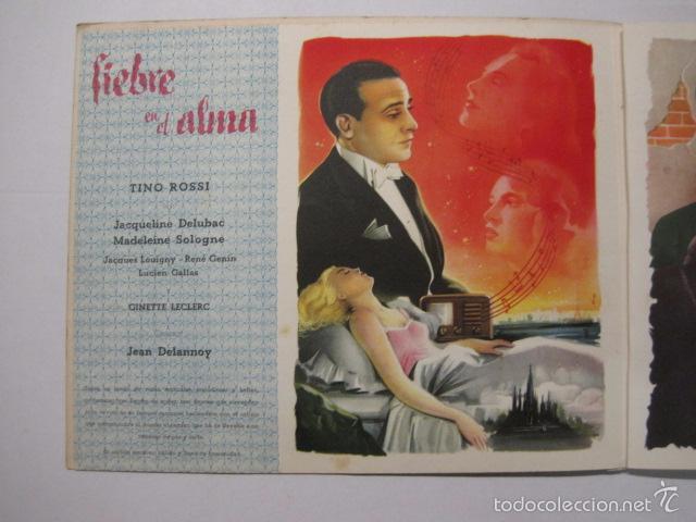 Cine: PROGRAMA PELICULAS EDICI - AÑOS 1948 -1949 - VER FOTOS -(V-5848) - Foto 6 - 57160102