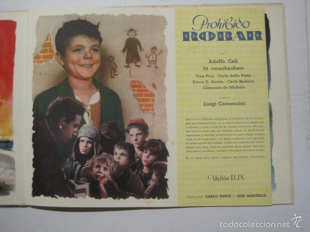 Cine: PROGRAMA PELICULAS EDICI - AÑOS 1948 -1949 - VER FOTOS -(V-5848) - Foto 7 - 57160102