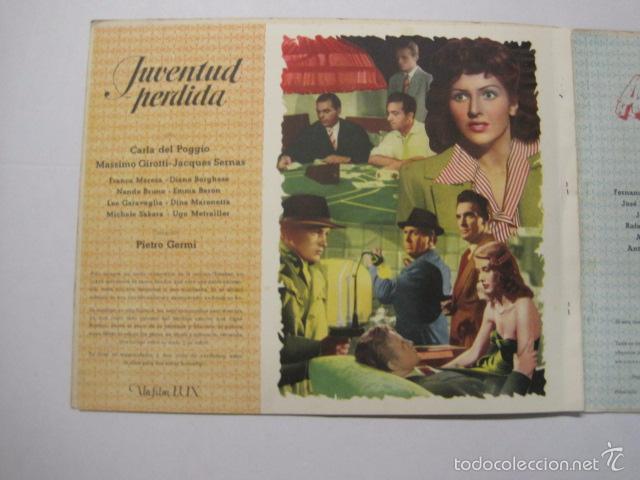 Cine: PROGRAMA PELICULAS EDICI - AÑOS 1948 -1949 - VER FOTOS -(V-5848) - Foto 8 - 57160102