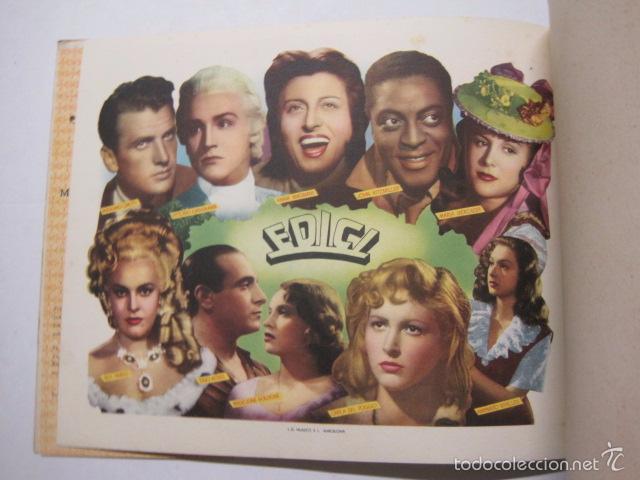 Cine: PROGRAMA PELICULAS EDICI - AÑOS 1948 -1949 - VER FOTOS -(V-5848) - Foto 10 - 57160102