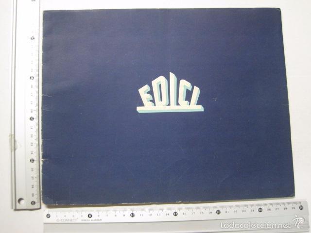 Cine: PROGRAMA PELICULAS EDICI - AÑOS 1948 -1949 - VER FOTOS -(V-5848) - Foto 12 - 57160102