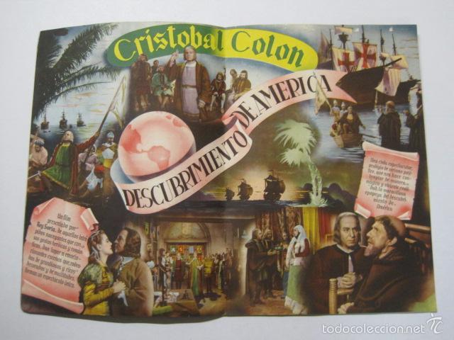 Cine: PROGRAMA PELICULAS - REY SORIA FILMS - AÑOS 1945- 46 - VER FOTOS -(V-5852) - Foto 5 - 57160256