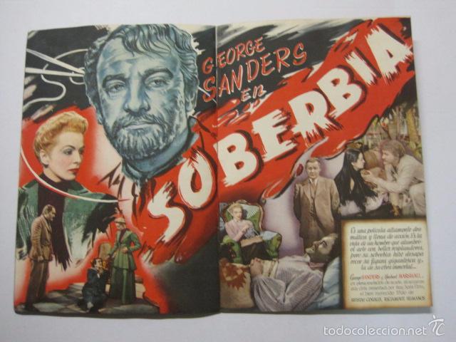 Cine: PROGRAMA PELICULAS - REY SORIA FILMS - AÑOS 1945- 46 - VER FOTOS -(V-5852) - Foto 6 - 57160256