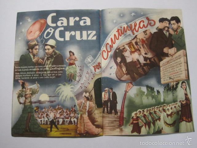 Cine: PROGRAMA PELICULAS - REY SORIA FILMS - AÑOS 1945- 46 - VER FOTOS -(V-5852) - Foto 8 - 57160256