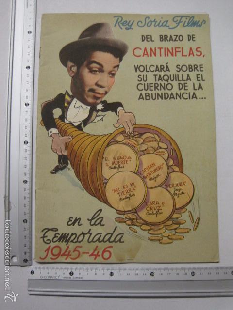 Cine: PROGRAMA PELICULAS - REY SORIA FILMS - AÑOS 1945- 46 - VER FOTOS -(V-5852) - Foto 10 - 57160256