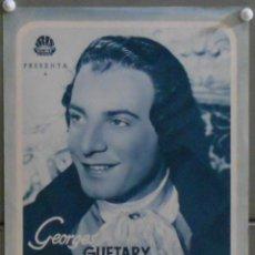 Cine: G6675 LAS AVENTURAS DE CASANOVA GEORGES GUETARY GUIA ORIGINAL IRIS FILMS ESTRENO. Lote 57195364
