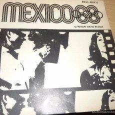 Cine: CATALOGO MEXICO 68 OLIMPIADAS . LE NOUVEAU CINEMA MEXICAIN . Nº 16 PUBLICIDAD PELICULAS CINE . Lote 57353039