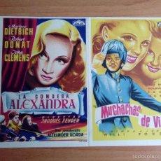 Cinéma: L1-GUIA DOBLE DE CINE--LA CONDESA ALEXANDRA Y MUCHACHAS DE VIENA. Lote 58262646