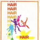 Cine: HAIR. GUIA PUBLICITARIA Y CARTELERA 7 ESCENAS. Lote 58429623