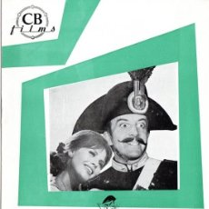 Cine: TRAS LA PISTA DEL ZORRO. (VITTORIO DE SICA, 1966) GUIA PUBLICIDAD. Lote 58433791