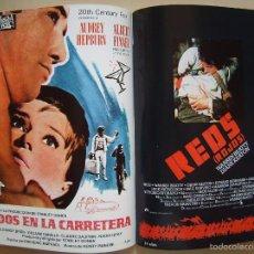 Cine: CATÁLOGO PROFILMAR, CON 50 CARTELES 21 X 30 CMS... Lote 212926810