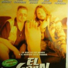 Cine: GUIA EL GRAN LEBOWSKI- JEFF BRIDGES. Lote 58999245