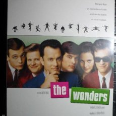 Cine: GUIA DOBLE THE WONDERS -TOM HANKS. Lote 61110499