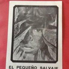 Cine: EL PEQUEÑO SALVAJE, FRANÇOIS TRUFFAUT, PEQUEÑA GUÍA LOCAL. Lote 61822408