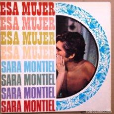 Cine: SARA MONTIEL GUIA PUBLICITARIA DEL FILM ESA MUJER 6 HOJAS. Lote 61917556