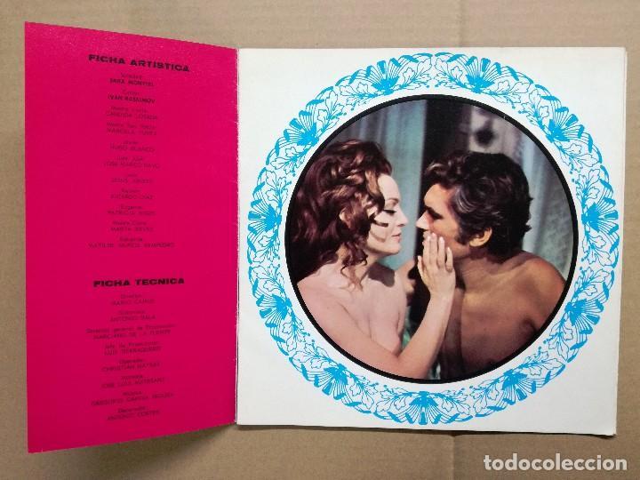 Cine: SARA MONTIEL GUIA PUBLICITARIA DEL FILM ESA MUJER 6 HOJAS - Foto 3 - 61917556