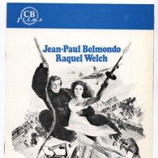 Cine: J.P. BELMONDO, RAQUEL WELCH - EL ANIMAL - GUÍA PARA PRENSA + 1 FOTO (1978). Lote 62241048