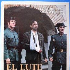 Cine: EL LUTE CAMINA O REVIENTA – CARPETA DE PRESENTACIÓN A LA PRENSA Y GUÍA DE LA PELÍCULA (1987). Lote 62258140