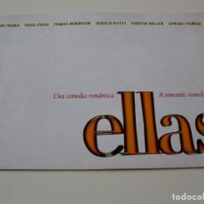 Cine: ELLAS - CARMEN MAURA, MIOU-MIOU, MARISA BERENSON, AMPARO MUÑOZ, GUESCH PATTI - GUIA DE LUJO. Lote 62816752