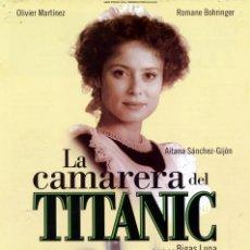 Cine: LA CAMARERA DEL TITANIC (GUÍA ORIGINA) AITANA SÁNCHEZ-GIJÓN. Lote 63111340