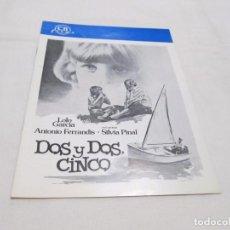 Cine: DOS Y DOS, CINCO - LOLO GARCIA - CB FILMS. Lote 63478000