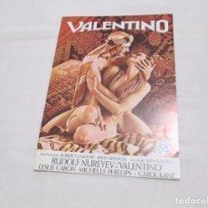 Cine: VALENTINO - RUDOLF NUREYEV - CB FILMS. Lote 63482492