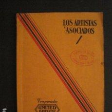 Cine: CATALOGO LOS ARTISTAS ASOCIADOS 1932-1933-CON MAS DE 50 LANZAMIENTOS DE PELICULAS-VER FOTOS-(V-6784). Lote 63558076