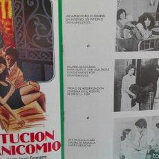 Cine: PROSTITUCIÓN EN EL MANICOMIO. Lote 63562828