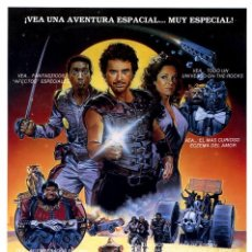 Cinéma: GUERREROS DEL ESPACIO (GUÍA ORIGINAL DOBLE DE SU ESTRENO EN ESPAÑA CON FOTOS). Lote 67299350