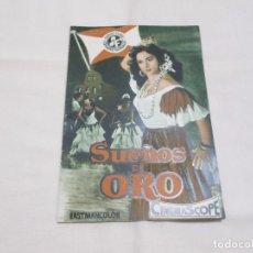 Cine: SUEÑOS DE ORO - LOLA FLORES - SUEVIA FILMS. Lote 64142423