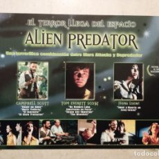 Cine: GUIA DE VIDEOCLUB ORIGINAL -A4- ALIEN PREDATOR - ALIEN - TERROR - TOM EVERETT SCOTT. Lote 64192451