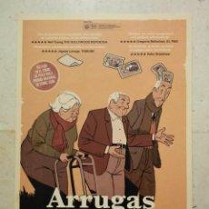 Cine: GUIA ORIGINAL -A4- ARRUGAS - ANIMACION - CINE ESPAÑOL. Lote 64424023