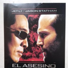 Cine: LAMINA -A4- EL ASESINO WAR - JET LI - JASON STATHAM - ACCION. Lote 64813699