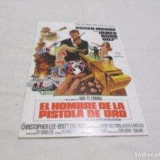 Cine: EL HOMBRE DE LA PISTOLA DE ORO - ROGER MOORE - CB FILMS. Lote 64989551
