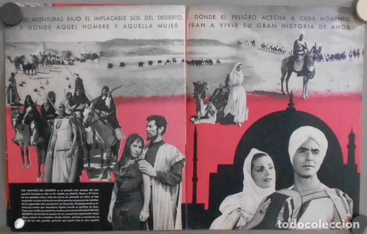 433c7406f5 Cine  G7209 LOS AMANTES DEL DESIERTO CARMEN SEVILLA RICARDO MONTALBAN JOSE  GUARDIOLA GUIA ORIG CEA