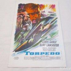 Cine: TORPEDO - CLARK GABLE - CB FILMS. Lote 65881946