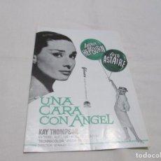 Cine: UNA CARA CON ANGEL - AUDREY HEPBURN - FILMAX. Lote 66185314