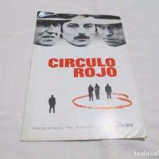 Cine: CIRCULO ROJO - ALAIN DELON - FILMAX. Lote 66185362