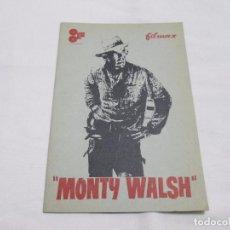 Cine: MONTY WALSH - LEE MARVIN - FILMAX. Lote 66856350
