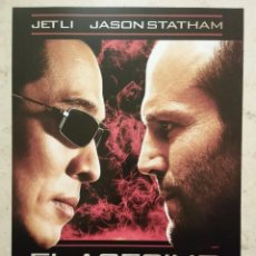 Cine: GUIA ORIGINAL -A4- EL ASESINO WAR - JET LI - JASON STATHAM. Lote 66890150