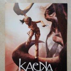 Cine: GUIA ORIGINAL -A4- KAENA LA PROFECIA - ANIMACION. Lote 66971574