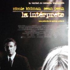 Cine: GUIA LA INTERPRETE.- NICOLE KIDMAN. Lote 66987590