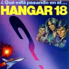 Cine: HANGAR 18 (GUÍA ORIGINAL SIMPLE DE SU ESTRENO EN ESPAÑA). Lote 67713741