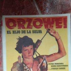 Cine: GUÍA DE CINE ORSON WELLES. Lote 67850967