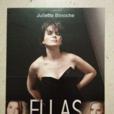 Cine: GUIA ORIGINAL -A4- ELLAS - ARCHIVO - JULIETTE BINOCHE - JOANNA KULIG. Lote 68347345